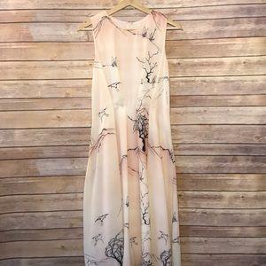 Eva Franco Pink Printed Dress